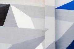 Abstract modieus beeld op muur, de stijlclose-up van de kunstgraffiti Concept eigentijdse cultuur Fragment voor achtergrond Royalty-vrije Stock Foto's