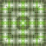 Abstract modieus naadloos patroon van vierkante bamboevormen Royalty-vrije Stock Fotografie