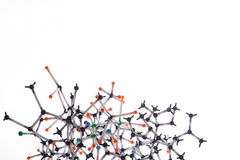 Abstract molecular structure Stock Photo