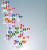 Abstract molecule Stock Photography
