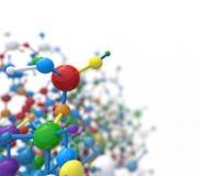 Abstract molecule Stock Photo