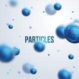 Abstract molecules design. Stock Photo