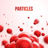 Abstract molecules design. Stock Images