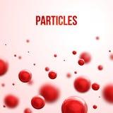 Abstract molecules design. Stock Photos