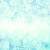 Abstract molecules medisch blauw Royalty-vrije Stock Foto