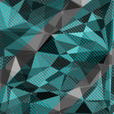 Abstract monochromatic geometrical image. Cute illustration for Stock Images