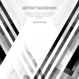 Abstract monochrome background of lines and squares. White space for text. Geometric texture royalty free illustration