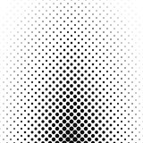 Abstract monochrome circle pattern background Royalty Free Stock Photos