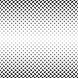 Abstract monochrome diagonal ellipse pattern Stock Photo