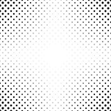 Abstract monochrome dot pattern background Stock Photo