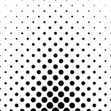 Abstract monochrome dot pattern Royalty Free Stock Photo