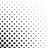 Abstract monochrome dot pattern background. Design - vector illustration Royalty Free Stock Photos