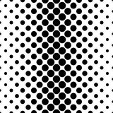 Abstract monochrome dot pattern - geometrical vector background design from circles. Abstract monochrome dot pattern - geometrical halftone vector background Royalty Free Stock Photos