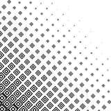 Abstract monochrome halftone background Royalty Free Stock Photography