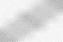 Abstract monochrome halftone pattern. Comic background. Dotted backdrop with circles, dots, point. Royalty Free Stock Photography