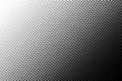 Abstract monochrome halftone pattern. Comic background. Dotted backdrop with circles, dots, point. Stock Photography