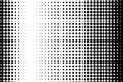 Abstract monochrome halftone pattern. Comic background. Dotted backdrop with circles, dots, point. Royalty Free Stock Images