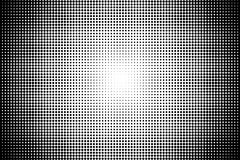 Abstract monochrome halftone pattern. Comic background. Dotted backdrop with circles, dots, point. Royalty Free Stock Image
