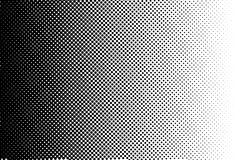 Abstract monochrome halftone pattern. Comic background. Dotted backdrop with circles, dots, point. Royalty Free Stock Photos