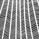 Abstract monochrome hand drawn doodle pattern Royalty Free Stock Photos