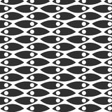 Abstract monochrome hand drawn doodle pattern. Design element for background, wrapping paper, paper packaging and other. Vector illustration Stock Image