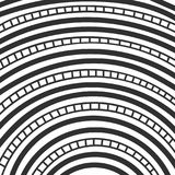 Abstract monochrome hand drawn doodle pattern. Design element for background, wrapping paper, paper packaging and other. Vector illustration Royalty Free Stock Photo