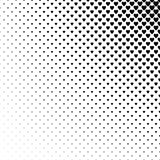 Abstract monochrome heart pattern background. Design vector Stock Images