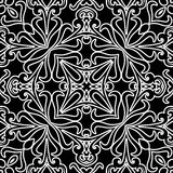 Abstract monochrome pattern Stock Photo
