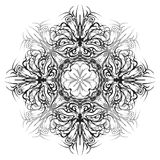 Abstract monochrome pattern Stock Photography