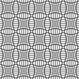 Abstract monochrome pattern with mosaic of distorted squares of Royalty Free Stock Photography
