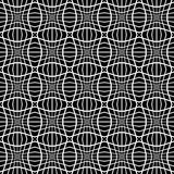 Abstract monochrome pattern with mosaic of distorted squares of Stock Photography