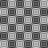 Abstract monochrome pattern with mosaic of distorted squares of Stock Images