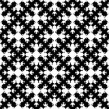 Abstract monochrome seamless pattern, Asian style. Vector monochrome geometrical texture, black and white seamless pattern in Asian style. Stylized geometric Stock Photography
