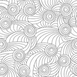 Lines and circles Stock Image