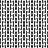 Abstract monochrome or two colors pattern Stock Illustration