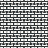 Abstract monochrome or two colors pattern Vector Illustration