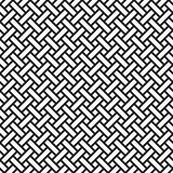 Abstract monochrome wicker seamless pattern in asian style. Abstract monochrome seamless pattern in asian style. Wicker texture Stock Photos
