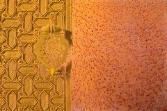 Abstract moorish background - mudejar gate Royalty Free Stock Image