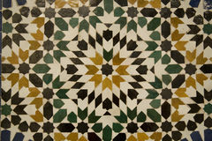 Abstract Moroccan mosaic Stock Photography