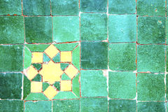 Abstract morocco in africa  green Royalty Free Stock Photos