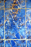 Abstract morocco in africa  tile the blue marble Stock Photo