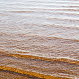 abstract in morocco  sea africa ocean wave and lanscape Royalty Free Stock Image