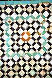 Abstract morocco in    tile the colorated pavement Stock Photography