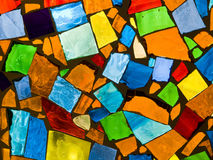 Abstract mosaic. Abstract background photo of colored glass mosaic Royalty Free Stock Image