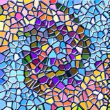 Abstract mosaic. Texture of glass or stone Stock Images
