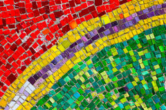 Abstract Mosaic. Colorful abstract of mosaic tiles Stock Image