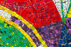 Abstract Mosaic. Colorful abstract of mosaic tiles Stock Photos