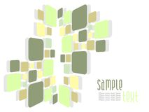Abstract mosaic art background Royalty Free Stock Photography