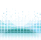 Abstract mosaic background. Abstract aqua square pixel mosaic background Royalty Free Stock Photo