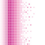 Abstract mosaic background. Abstract pink rounded square mosaic background Stock Photos